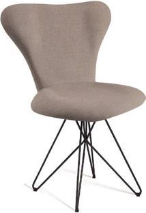 Cadeira Butterfly Linho Bege