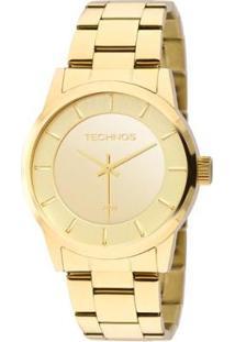 Relógio Technos Trend Feminino Analógico - 2035Lqa/4D 2035Lqa/4D - Feminino-Dourado