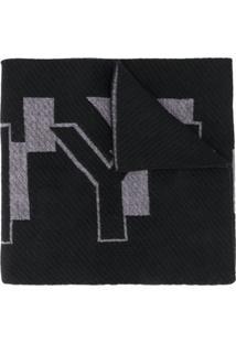 Givenchy Echarpe Com Logo - Preto