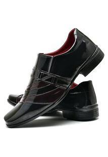 Sapato Social Masculino Com Verniz Db Now Dubuy 632Od Vermelho