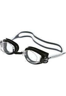 Óculos De Natação Speedo A18010 New Shark Clássico Preto E Cristal