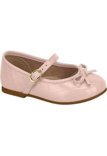 Sapato Infantil Molekinha Verniz Feminina - Feminino-Rosa