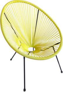 Cadeira De Jardim Acapulco Amarela