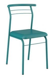 Cadeira Carraro 1708 Aço Color (2 Unidades) Turquesa