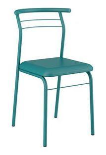 Cadeira Carraro 1708 Turquesa 2 Cadeiras
