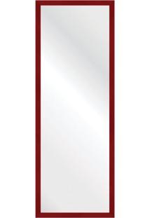 Espelho Savana Vermelho 47X127Cm