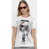 2b6e7ec092 Camiseta Coca-Cola Estampa Be Nice Feminina - Feminino