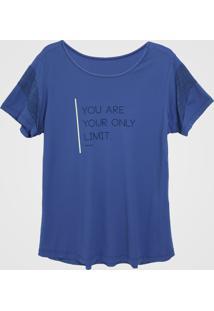 Camiseta Alto Giro Skin Azul
