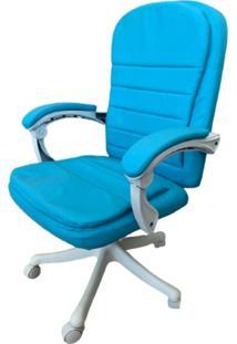Cadeira Escritório Prisma Base Branca Diretor