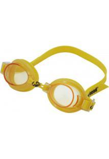 Óculos De Natação Hammerhead Focus 1.0 - Infantil - Amarelo