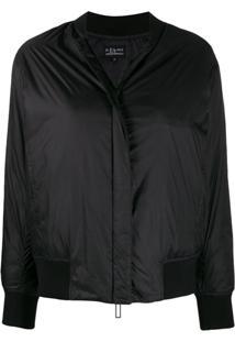 Emporio Armani Rear Logo Jacket - Preto