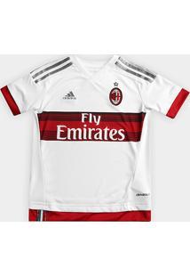 Camisa Adidas Milan Away 15/16 S/Nº Infantil - Masculino
