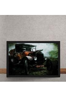 Quadro Decorativo Vintage Grass Collector 25X35