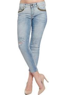 Calça Jeansedraria Colcci - Feminino-Azul