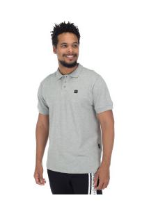 Camisa Polo Oakley Patch 2.0 - Masculina - Cinza Claro