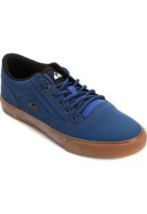 Tênis Quiksilver Rmx Masculino - Masculino-Preto+Azul