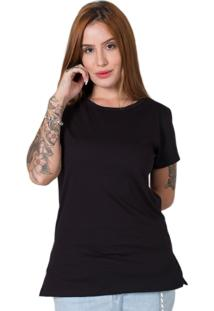 Camiseta Lisa Preto