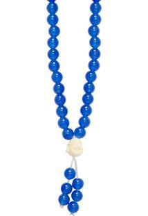 Colar Feminino Buda Pendurado - Azul