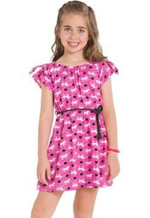 Vestido Infantil Kyly Meia Malha 109673.9010.8