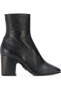 Off-White Owia Ankle Boots - Preto
