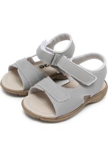 Papete Tricae Velcro Cinza