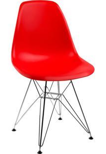 Cadeira Eames Side L Vermelha