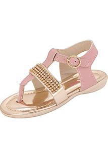 Sandália Infantil Plis Calçados Gatinha Feminina - Feminino-Rosa
