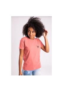 Camiseta Bossa Brasil Wing Vermelho