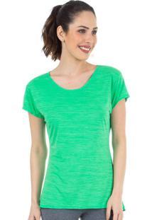 Camiseta Baby Look Verde| 553.822