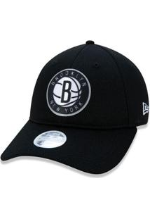 Boné New Era Feminino 9Twenty Nba Brooklyn Nets Back Half Aba Curva - Unissex