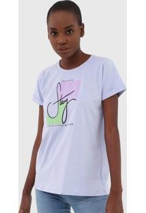 Camiseta Tricats Stay Lilás - Kanui