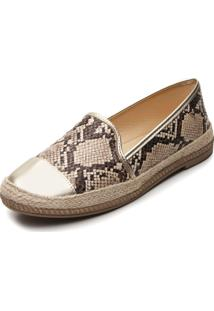 Slipper Mississipi Cobra Bege