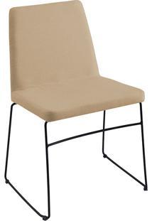 Cadeira Paris T1073-Daf Mobiliário - Bege