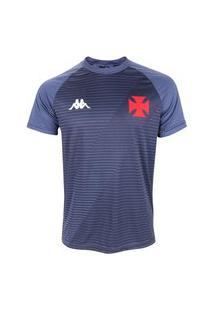 Camisa Kappa Vasco Supporter Masculina - Grafite