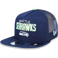 Boné Seattle Seahawks 950 A-Frame Trucker Sports - New Era - Unissex 220dea0315e