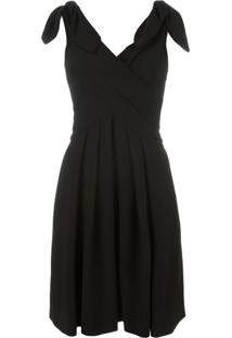 Moschino Vestido Sem Mangas - Preto