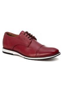 Sapato Social Masculino Loafer Vinho