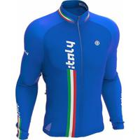 Camisa Ciclismo Manga Longa Italy Ert - Masculino c4d34bf3e0d