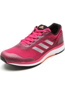 Tênis Adidas Mana Bounce 2 W Aramis Rosa/Preto