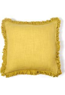 Capa De Almofada Soho Cor: Amarelo - Tamanho: Único