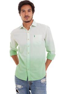 Camisa Sk Dêgrade Verde