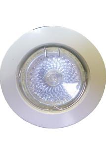 Spot Dicróica Fixo Zamac Mr16 50W 127V Branco