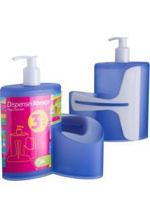 Dispenser Abraço Azul 600Ml 10864/0461 - Coza - Coza