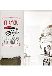 Adesivo Café Como El Amor