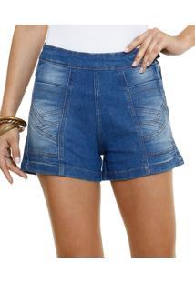 Short Feminino Em Jeans Marisa