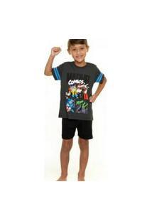 Pijama Infantil Marvel Vingadores