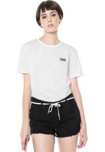 Camiseta Vans Boyfriend Wm Good Form Branca