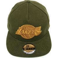 Boné New Era Snapback La Lakers Verde f42c8954f81