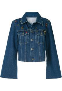 Nk Jaqueta Jeans Hedy - Azul