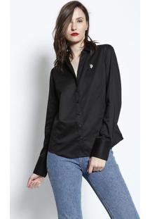 Camisa Lisa - Pretaus Polo